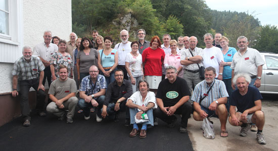 Group photo in Lauterbach, Black Forest area